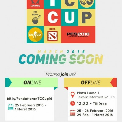 TC Cup 2016 Coming Soon