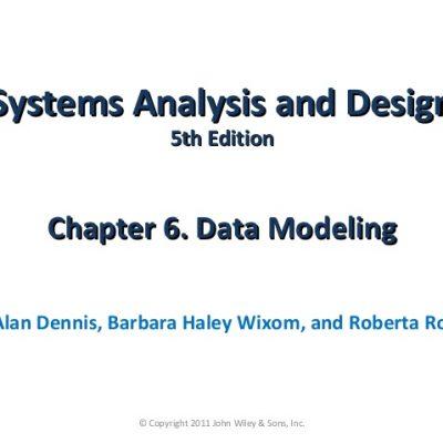 Rangkuman Buku System Analysis and Design Chapter 3 – 5